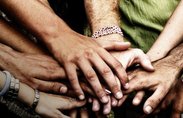 The only way to fight such darkness is by living a life connected to others