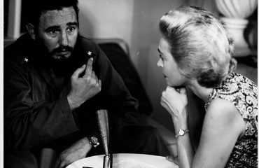 Lisa Howard with Fidel Castro - Photo - National Security Archive