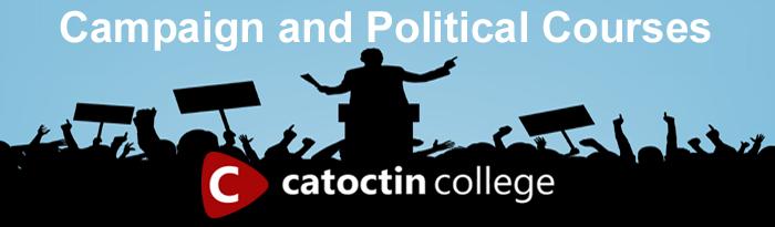 Campaign and Political Courses - Catoctin College